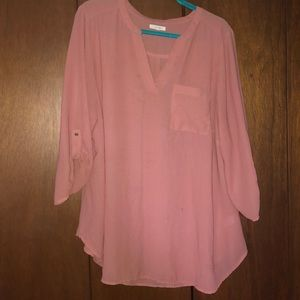 Gorgeous Maurices tunic length blouse